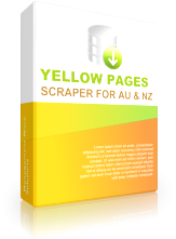 Yellow Pages Scraper for Australia and New Zealand