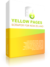 Yellow Pages Scraper for New Zealand